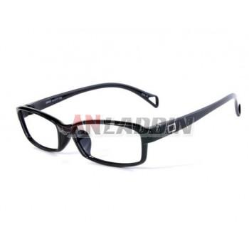 6g ultra-light series black classic glasses frames