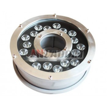 6W-18W colorful underwater fountain lights