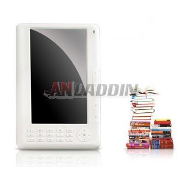 7-inch high-definition e-book reader button