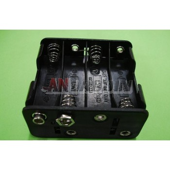 8pcs AA battery box with buckle / 12V Battery Case