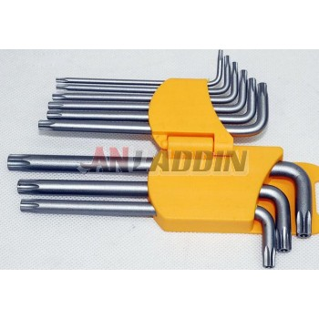 9 sets of hollow screw wrench
