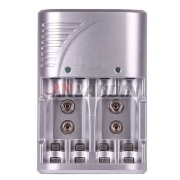 AA/AAA/9V multifunctional charger