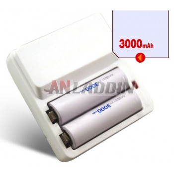 AA Rechargeable Battery Set with 2pcs 3000 mA rechargeable battery