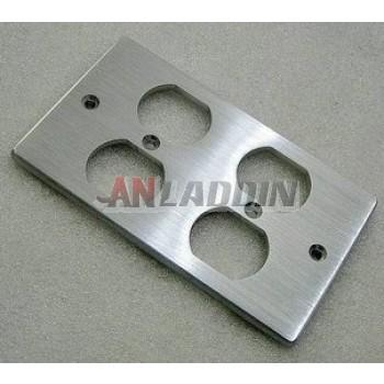 American Standard aluminum panel 4 Port Wall Plate