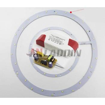 Annular 10-36W 4242 SMD LED light panel
