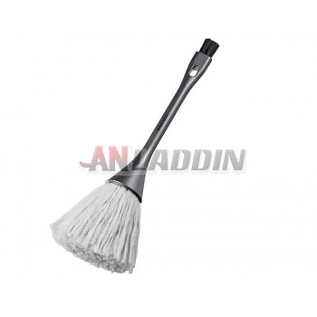 Antistatic cleaning double brush