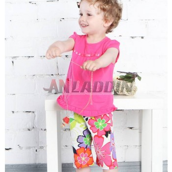 Baby girl summer suit