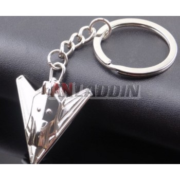 Beautifully aircraft keychain