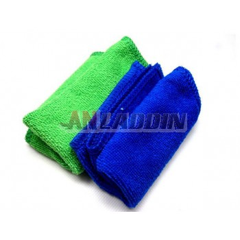 Billiard cue wiping cloth