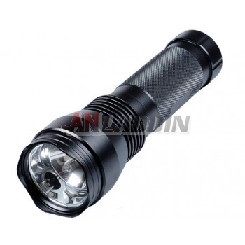 Black 24W HID Flashlight