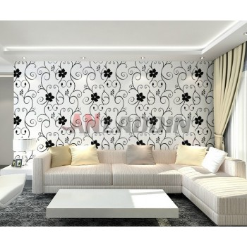 Black and white wall stickers