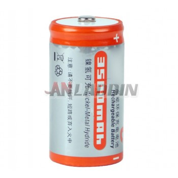 C-type high-capacity rechargeable battery