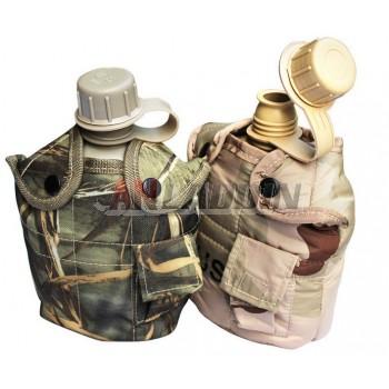 Camouflage outdoor high molecular kettle + Aluminum lunch box