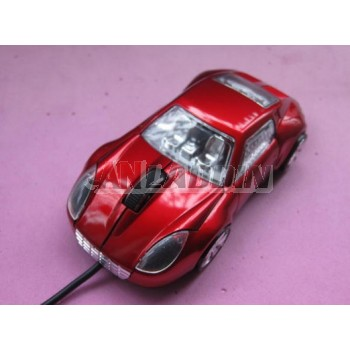 Car-shaped USB Wired Mouse