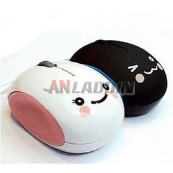 Cartoon usb wired mouse
