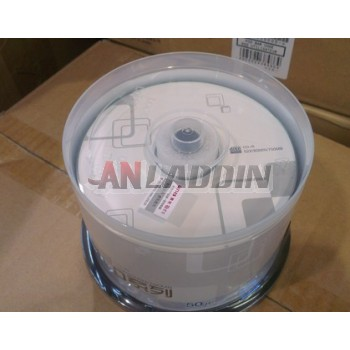 CD-R 52X blank recordable 50 disc