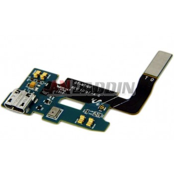 Charging ribbon cable with microphone for Samsung GALAXY NOTE2