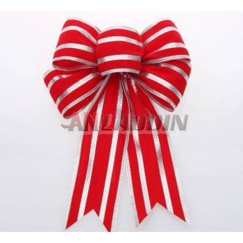 Christmas Stripes bows