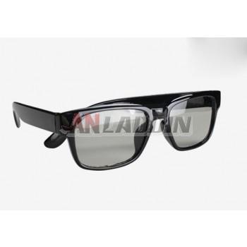 Circularly Polarized 3D Non-Flash Glasses / polarized 3d TV Universal