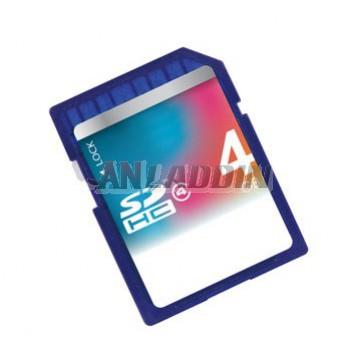 Class4/10 SDHC SD Memory Card