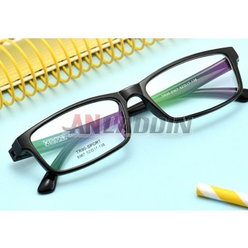 Classic black universal prescription glasses frame