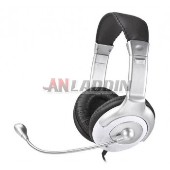 Classic Headset Headphone with Microphone