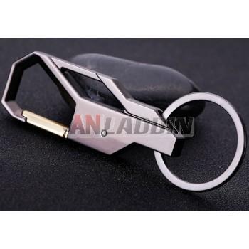 Classic zinc alloy keychain
