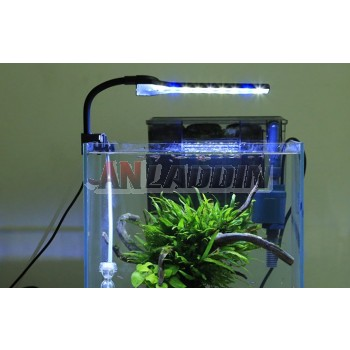 Clip-on LED aquarium lights