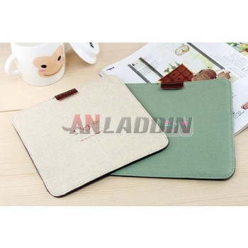 Cloth mouse pad