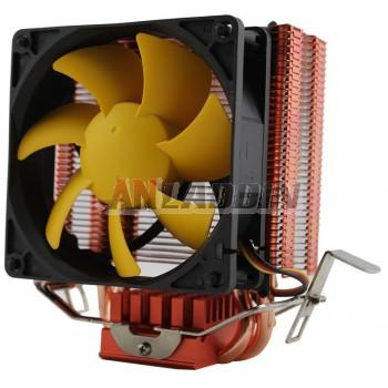 Copper heat pipe cpu Heatsink for computer
