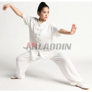 Cotton + silk tai chi clothing