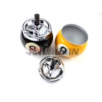 Creative billiard ball ashtray