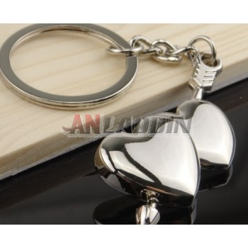 Cupid's arrow keychain