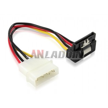 D 4P to SATA 15P power cable
