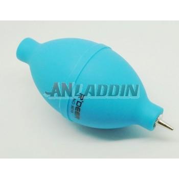Dedusting air blowing / metal nozzle