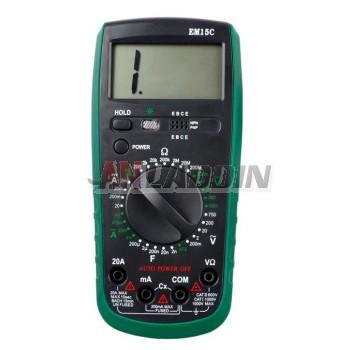 Digital Multimeter EM15C / anti-burn digital multimeter