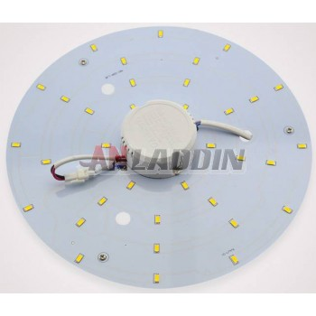 Disc-shaped 5-24W 5730 SMD LED lights panel