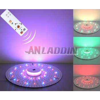 Disc-shaped remote control Colorful 18-25W 2835 SMD LED light panel