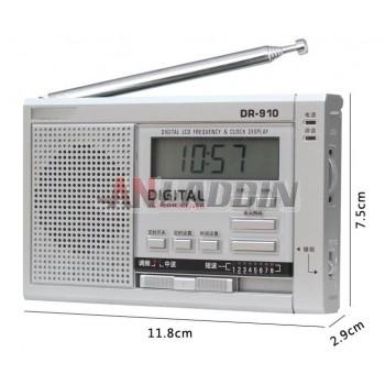 DR-910 high-sensitivity 11-band portable radio