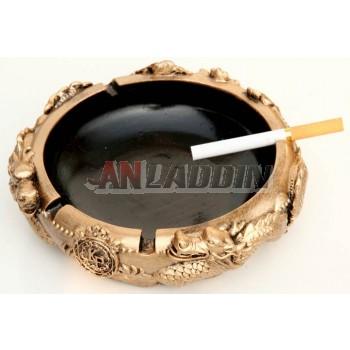 Dragon style retro ashtray