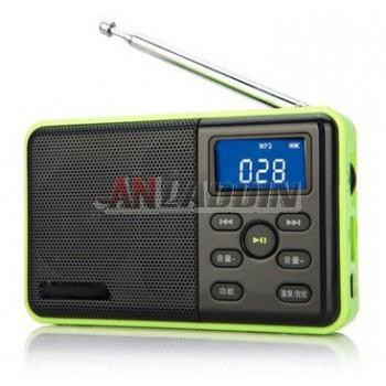 DS131 Portable Speaker / Mini Radio