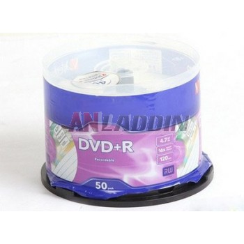 DVD + R /-R DVD blank recordable disk