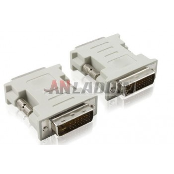 DVI 24 +1 Adapter / DVI male to male adapter