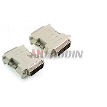 DVI 24 +5 male to male adapter / dvi adapter
