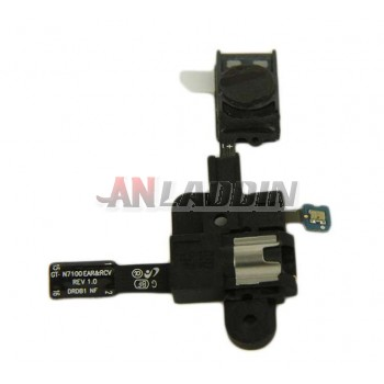 Earpiece and Earphone jack ribbon cable for Samsung GALAXY note2
