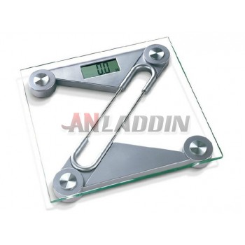 Electronic body scale with memory function