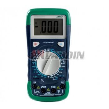 EM90A anti-burn digital multimeter / large capacitor 2000uF