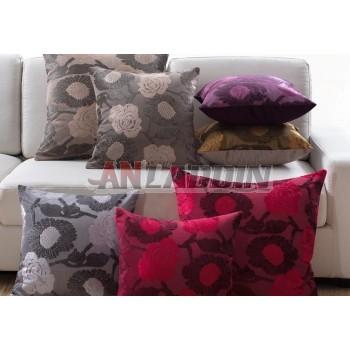 European-style flower pattern pillow
