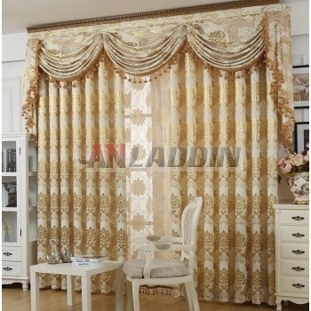 European style Jacquard curtains