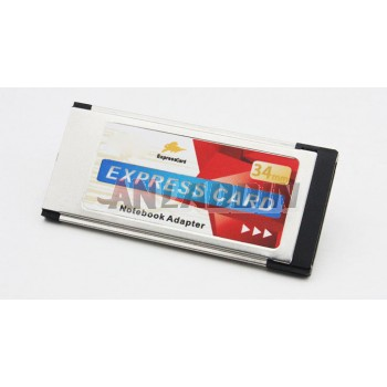 Express Card to USB3.0 * 2 / 34mm For Laptop